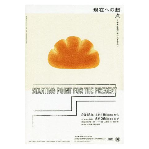 「現在への起点」展覧会ポスター